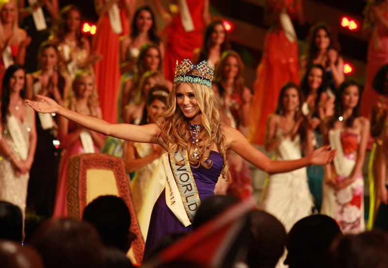 Culture Story: #9 Ksenia Sukhinova, Miss World 2008