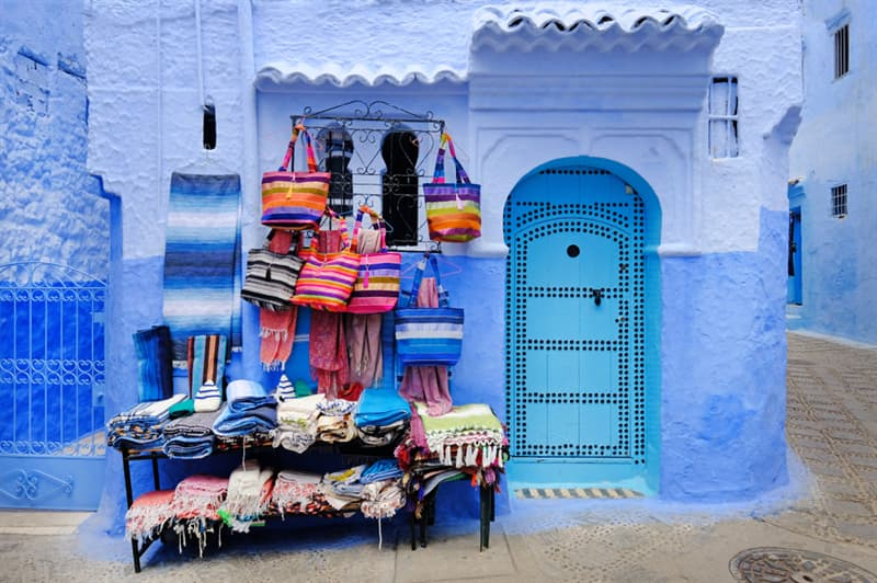 Geography Story: Chefchaouen - Morocco's Blue City #11