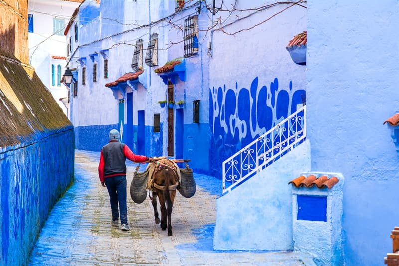 Geography Story: Chefchaouen - Morocco's Blue City #12