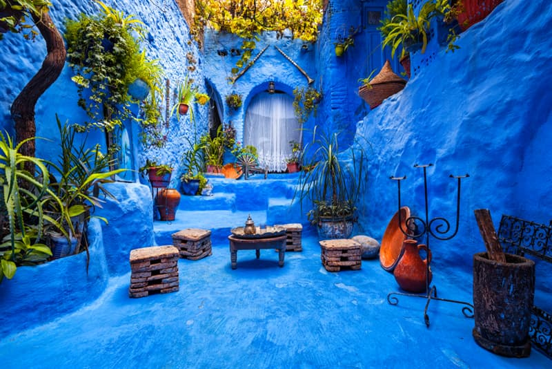 Geography Story: Chefchaouen - Morocco's Blue City #2