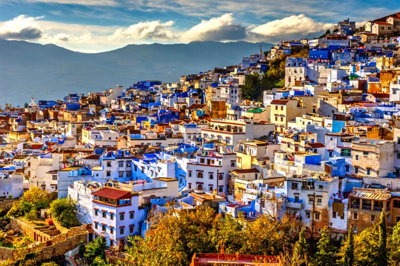 Geography Story: Chefchaouen - Morocco's Blue City #3