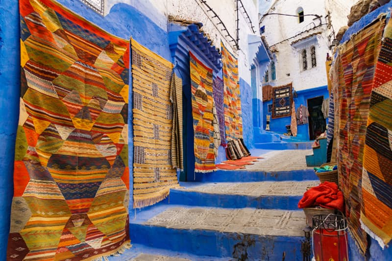 Geography Story: Chefchaouen - Morocco's Blue City #4