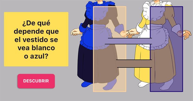 Сiencia Historia: ¿De qué depende que el vestido se vea blanco o azul?