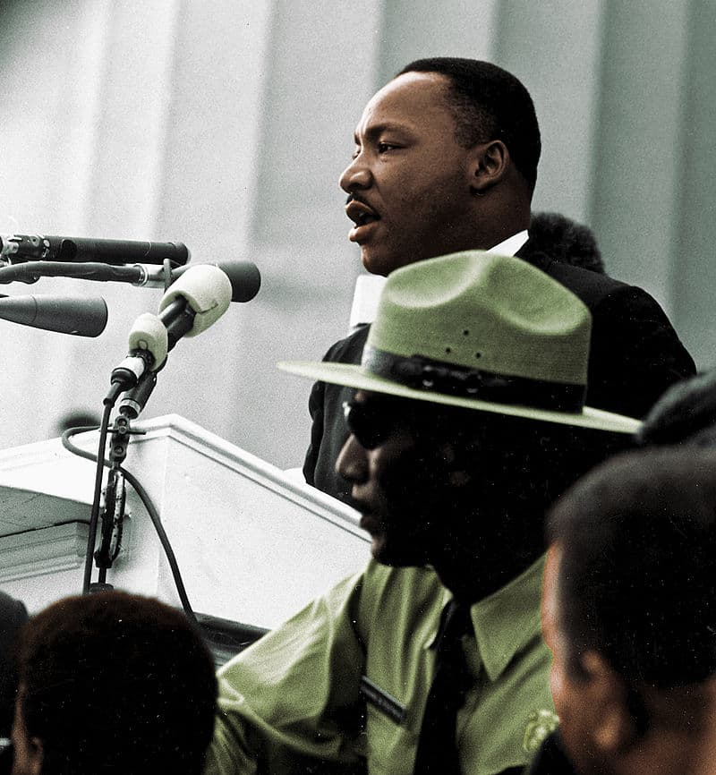 """Culture Story: #2 Martin Luther King Jr. gives """"I Have a Dream"""" speech, 1963"""