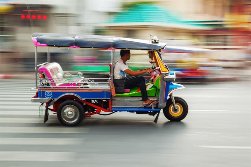 Geography Story: #4 Tuk-Tuk,  Thailand and Cambodia