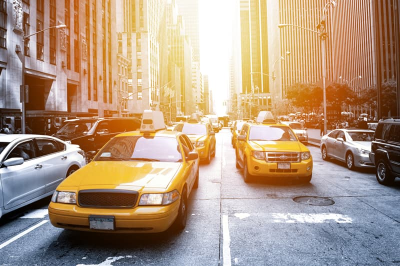 Geography Story: #7 Yellow taxi, New York