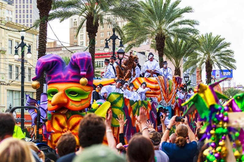 Culture Story: #3 Mardi Gras in New Orleans is famous for the biggest parties