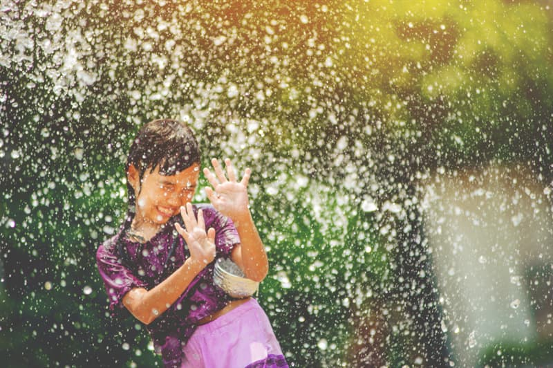 Culture Story: #5 Songkran in Thailand is a 3-day water fight in the country