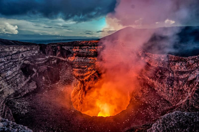 Geography Story: #2 Masaya Volcano is the most active volcano in Nicaragua