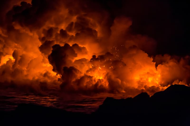 Geography Story: #6 A massive lava flow in the Hawaiian Islands