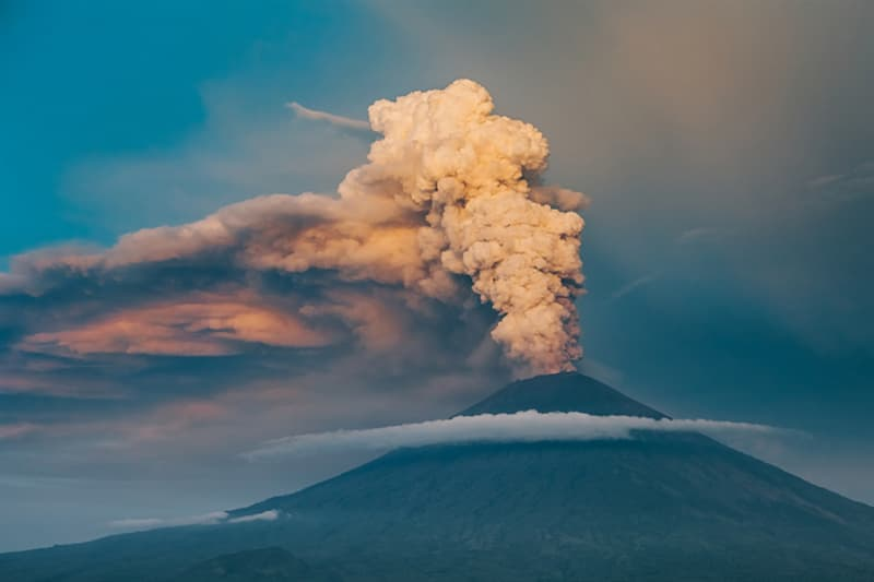 Geography Story: #7 Mount Agung is the highest point  on Bali