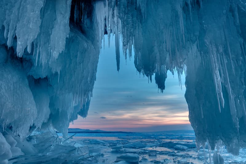 Geography Story: #3 Ice caves on Lake Baikal
