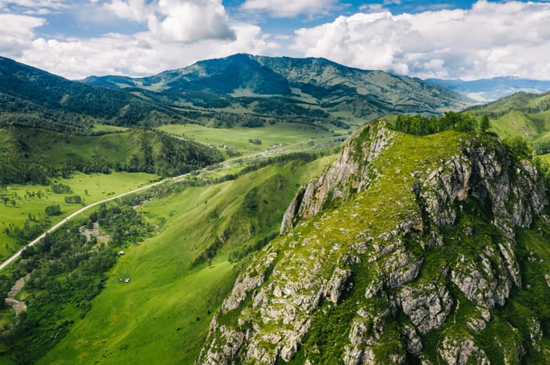Geography Story: #4 Green mountains of Siberia