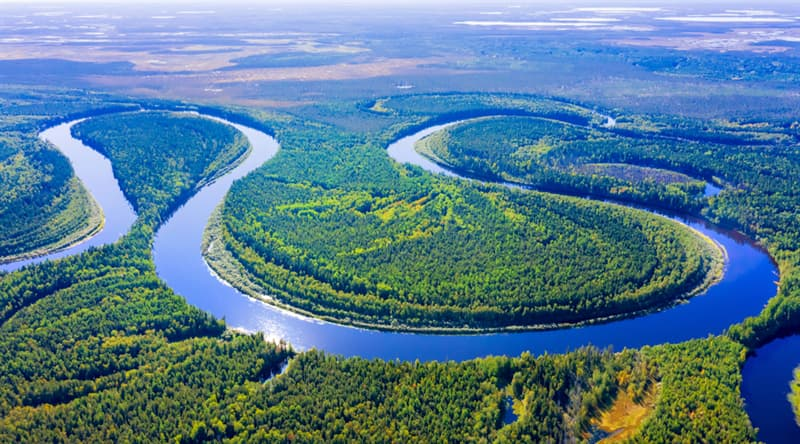 Geography Story: #6 Meandering river