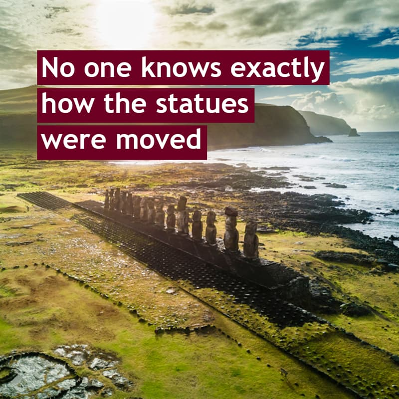Geography Story: No one knows exactly how the statues were moved