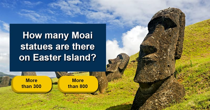 Geography Story: The mystery of the Easter island heads – 7 interesting facts