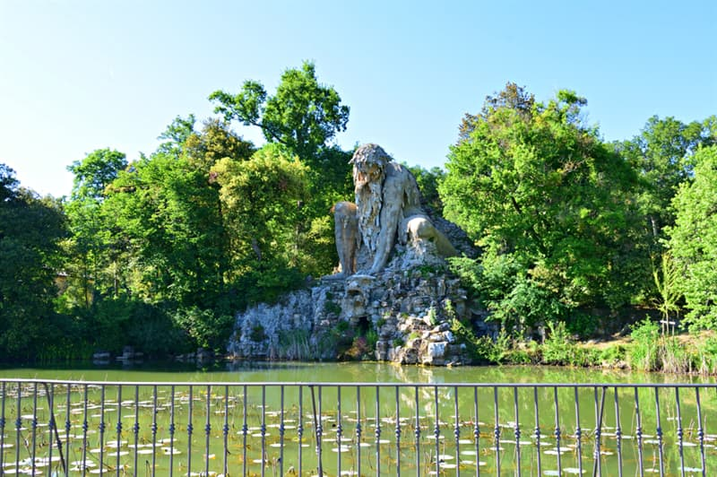 Culture Story: #1 Colossus of the Apennines is located at the  Park of Pratolino, Italy