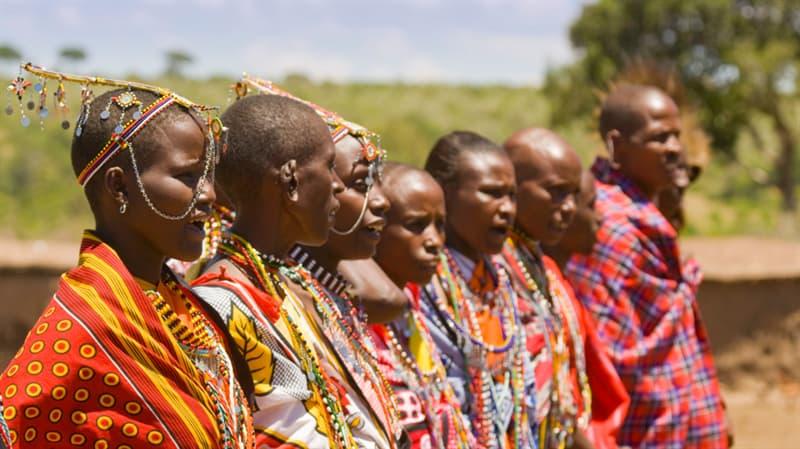 Geography Story: #6 Maasai beadwork, Kenya
