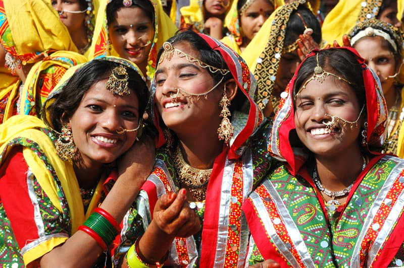 Geography Story: #9 The Sari, India