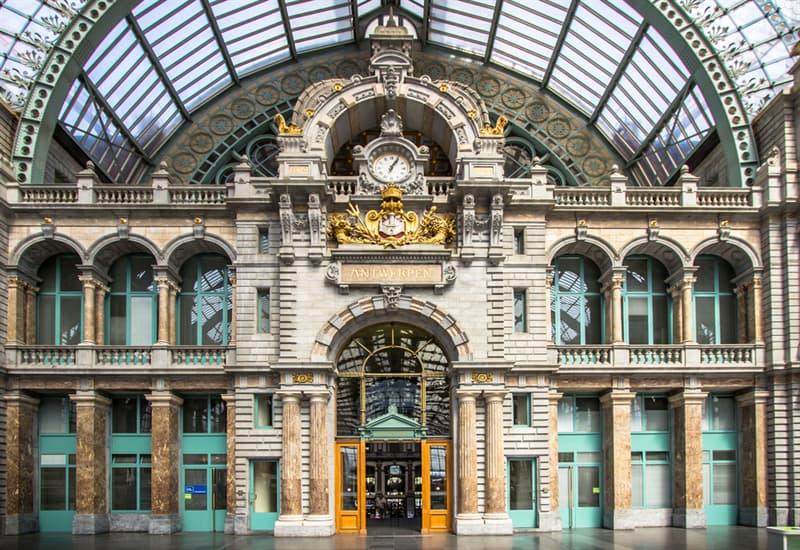 Geography Story: #5 Antwerpen railway station, Belgium