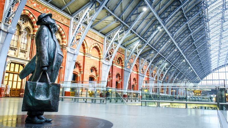 Geography Story: #6  London's St Pancras International train station, England