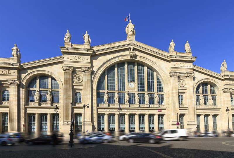 Geography Story: #7 Gare du Nord in Paris, France