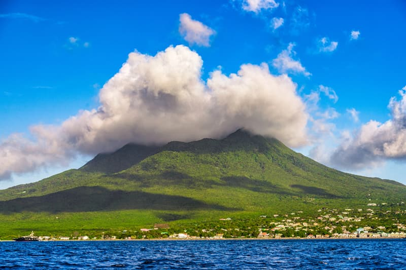 Geography Story: best places to visit if you are an introvert travel destinations Nevis Island in the Caribbean Sea