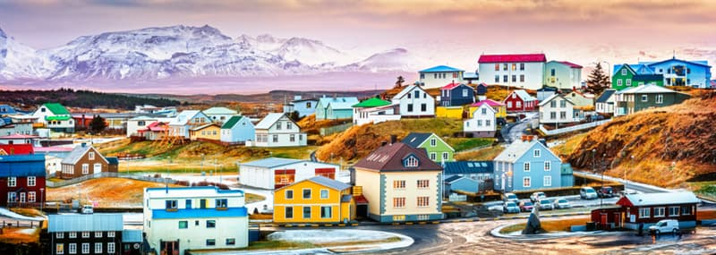 Geography Story: best places to visit if you are an introvert travel destinations Stykisholmur Iceland