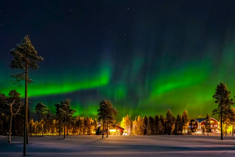 Geography Story: best places to visit if you are an introvert travel destinations Lapland Finland