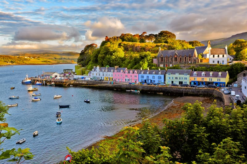 Geography Story: best places to visit if you are an introvert travel destinations Isle of Skye Scotland