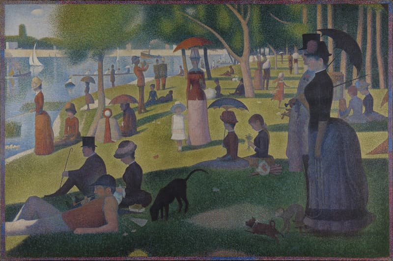 """Culture Story: #17 """"A Sunday Afternoon on the Island of La Grande Jatte"""" by Georges Seurat"""