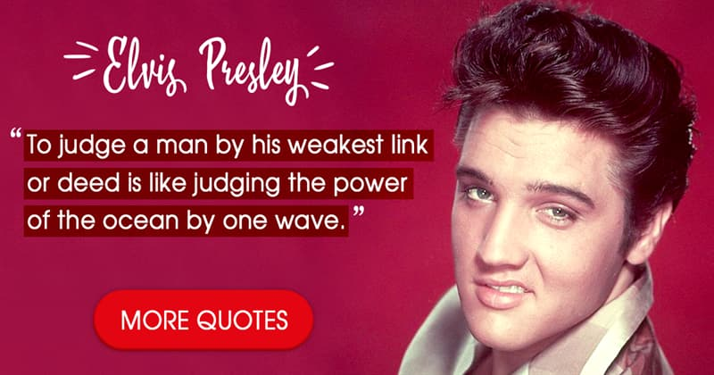 Culture Story: 12 beautiful Elvis Presley quotes that will always be relevant