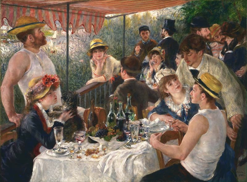 """Culture Story: #14 """"Luncheon of the Boating Party"""" by Pierre-Auguste Renoir"""