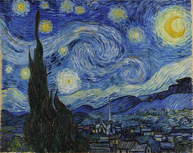 """Culture Story: #15 """"The Starry Night"""" by Vincent Van Gogh"""