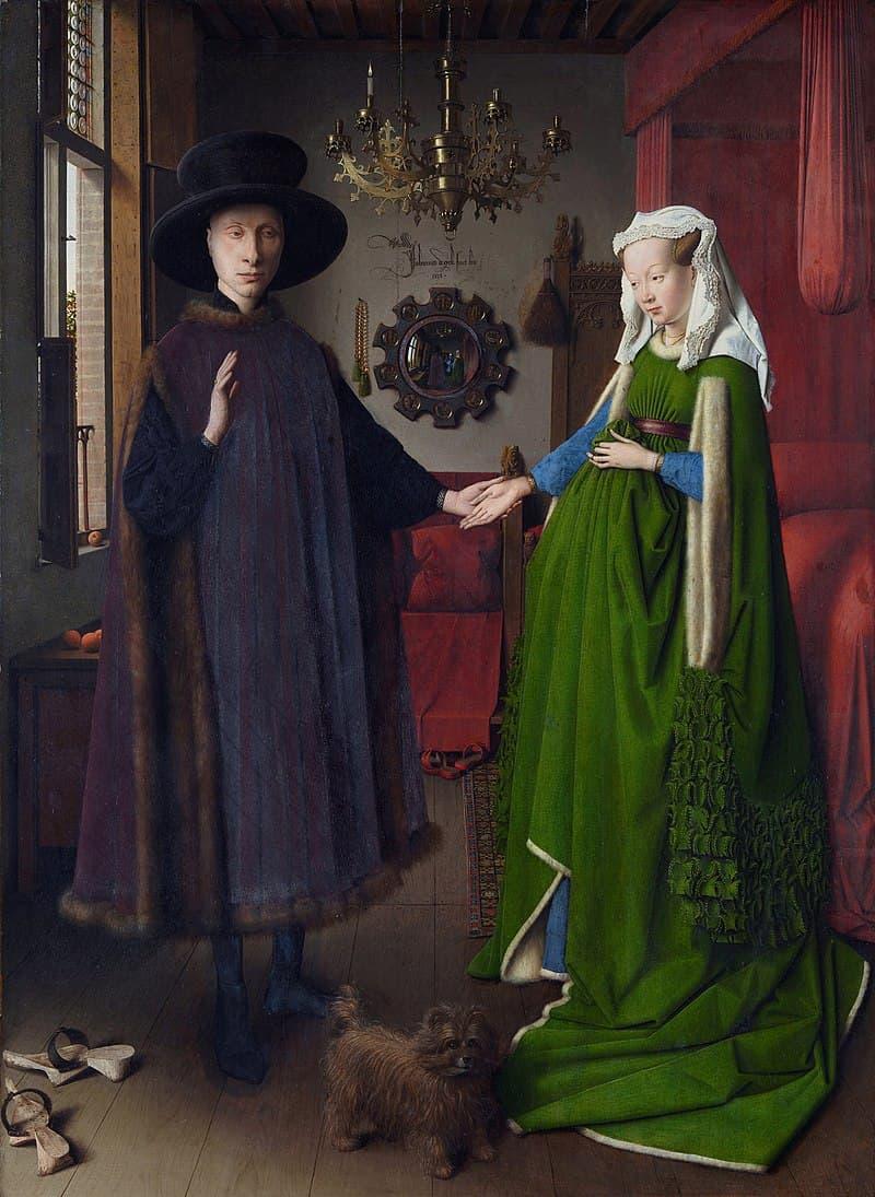 "Culture Story: #16 ""The Arnolfini Portrait"" by Jan van Eyck"
