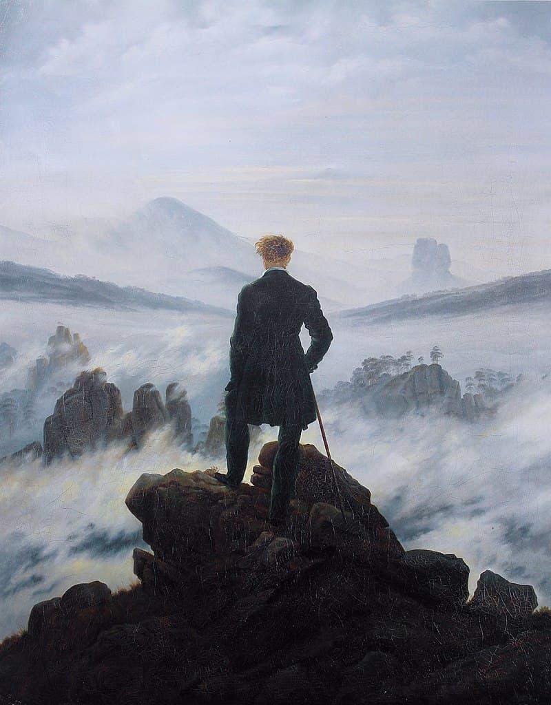 "Culture Story: #4 ""Wanderer above the Sea of Fog"" by Caspar David Friedrich"