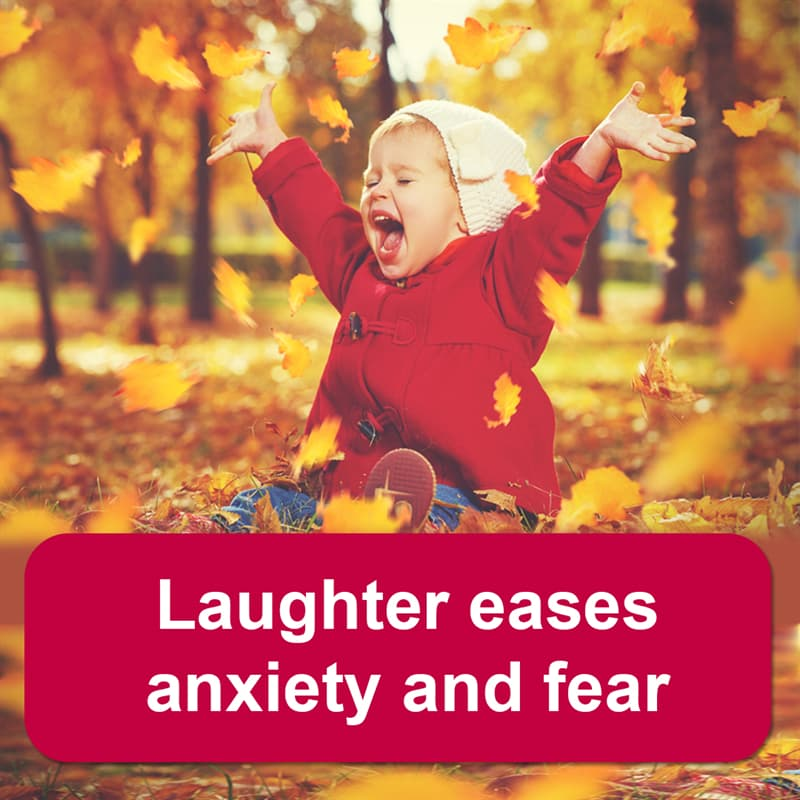 Science Story: Laughter eases anxiety and fear