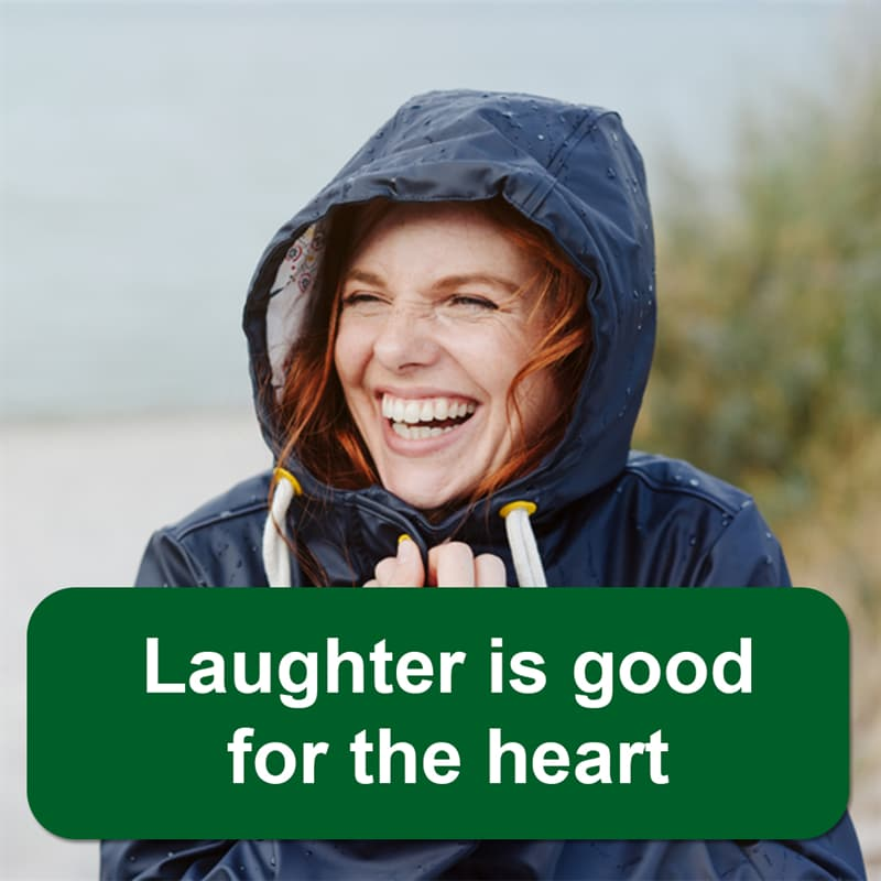 Science Story: Laughter is good for the heart