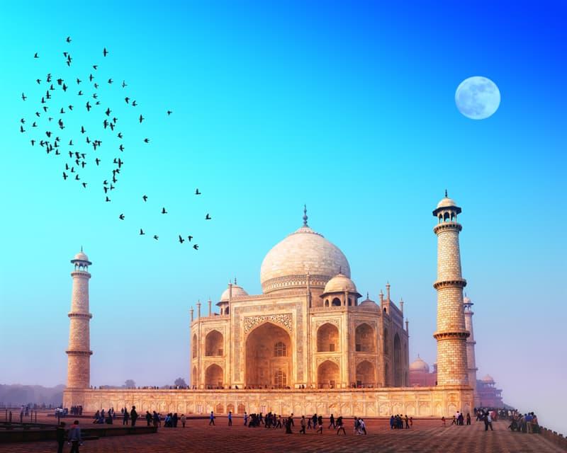 Geography Story: #3 Taj Mahal