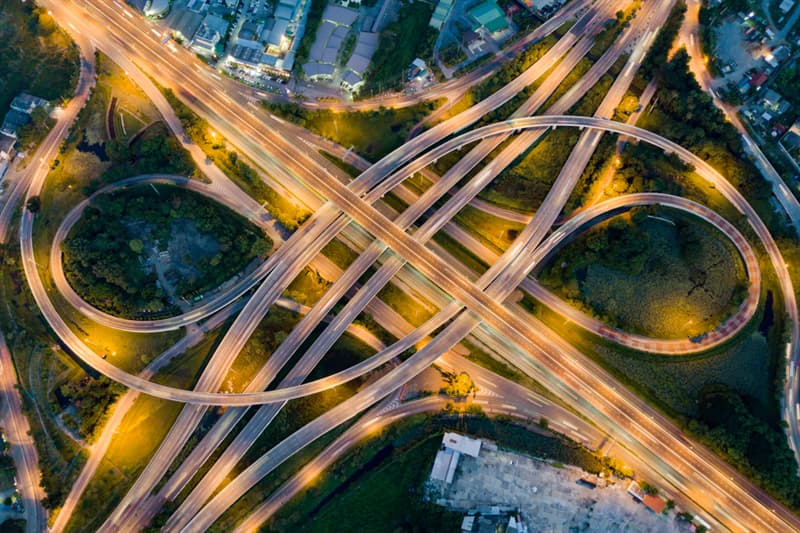 Geography Story: #12 Interchange on a highway