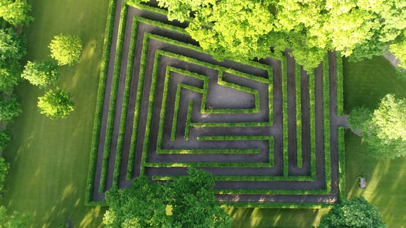 Geography Story: #2 A maze with only one way out