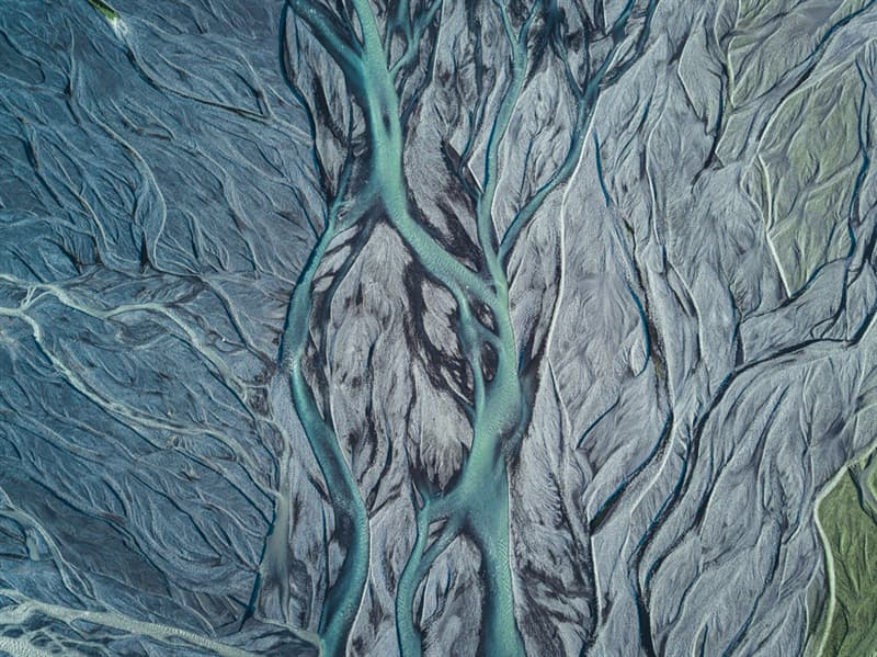 Geography Story: #5 Glacier river stream in Iceland