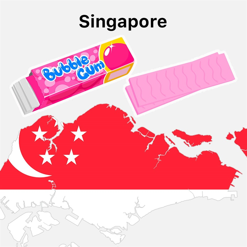 Society Story: #6 Chewing gum