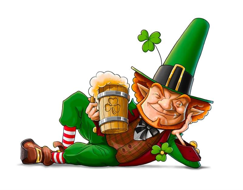 Culture Story: St. Patrick's Day decorations St. Patrick's Day 2020 leprechaun