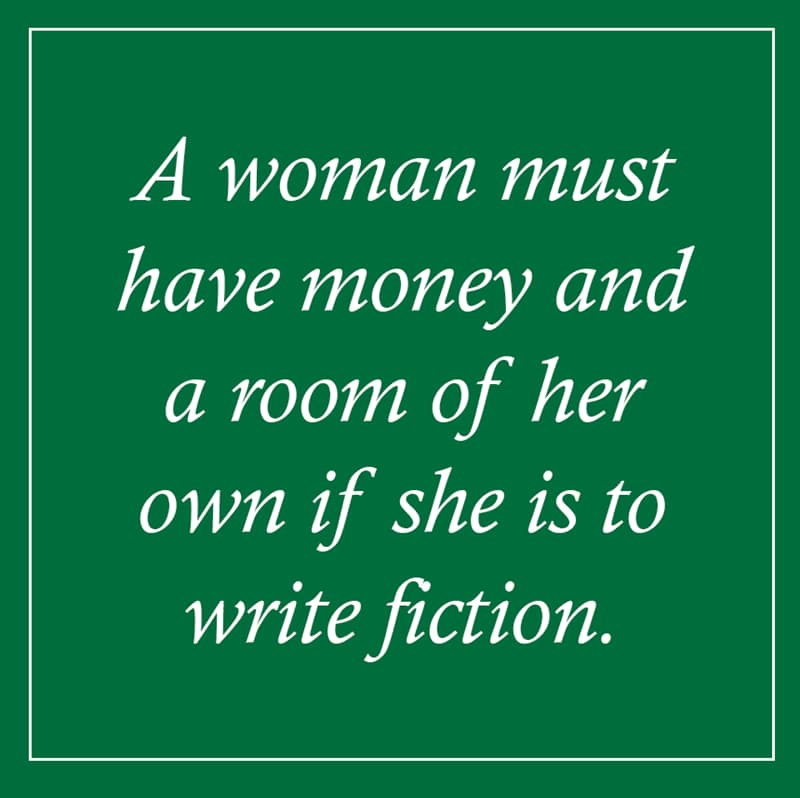 female Story: Virginia Woolf quotes about women