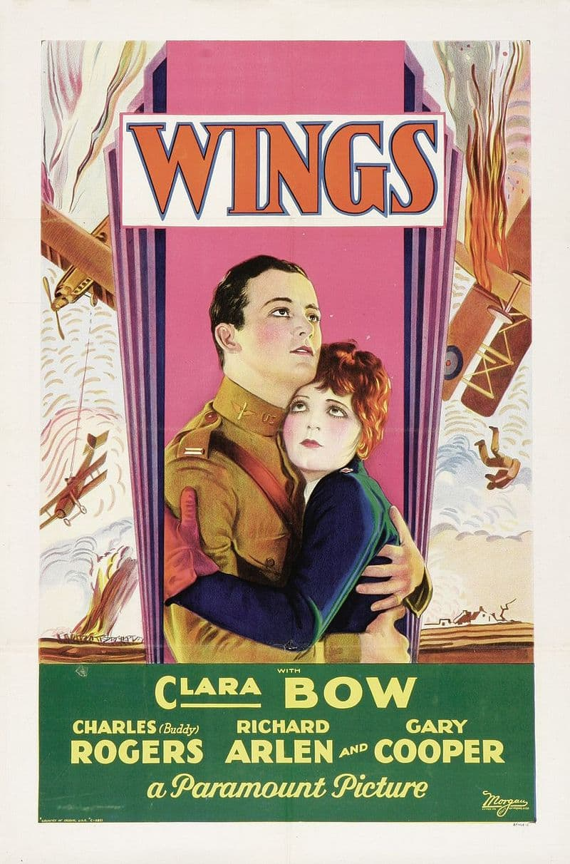 """Culture Story: #2 THE FIRST BEST PICTURE: """"Wings"""""""