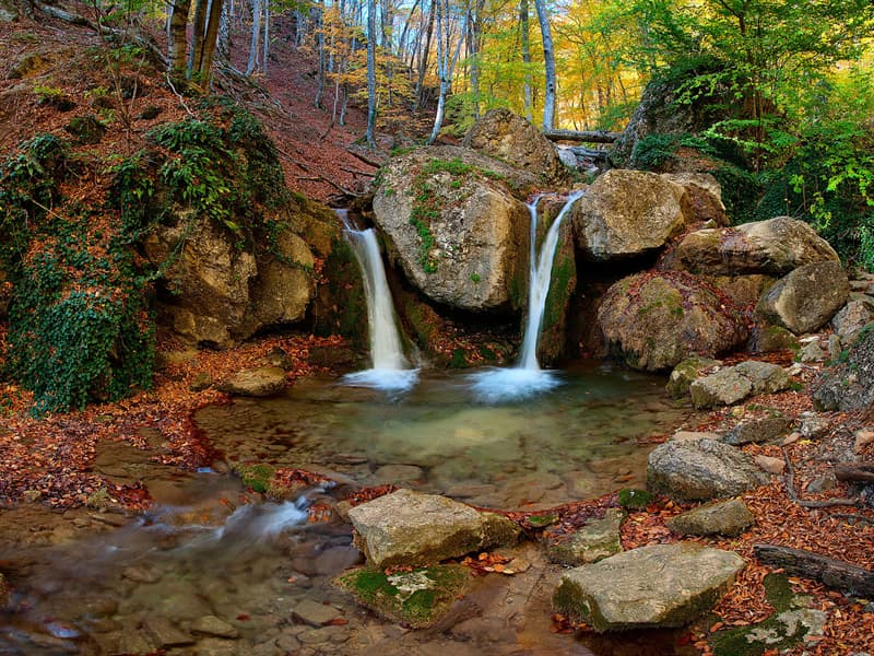 Geography Story: #3 Khapkhalskyi hydrological nature reserve (zakaznik), Crimea, Ukraine by Balkhovitin - 7th place, 2013