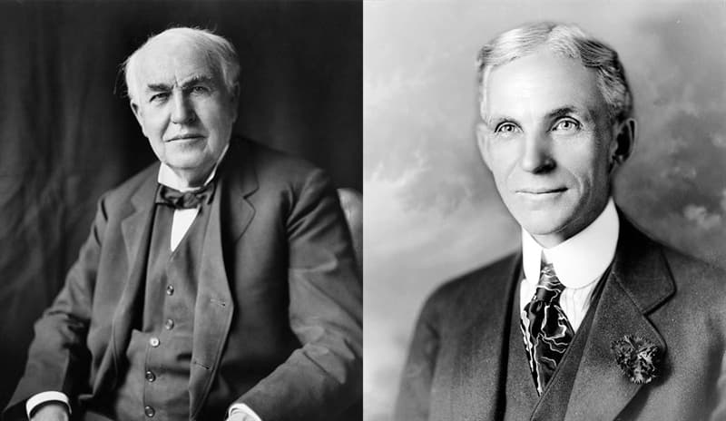Culture Story: Thomas Edison and Henry Ford examples of great friendships in history