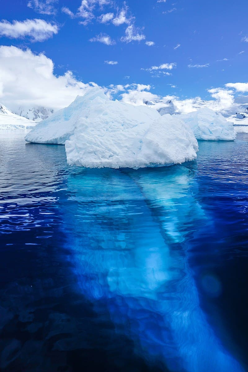 Geography Story: 8. The warmest month in the Antarctica is February.