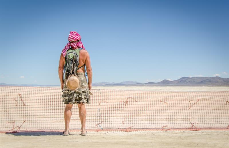 Society Story: Burning man festival